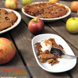 Apple Pecan Cobbler Recipe