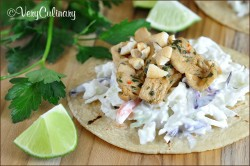 Asian Chicken Tacos Recipe