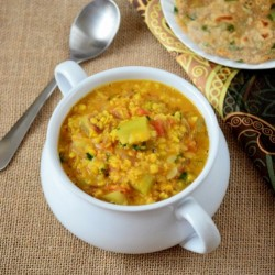 Bottlegourd with Mung Bean Curry