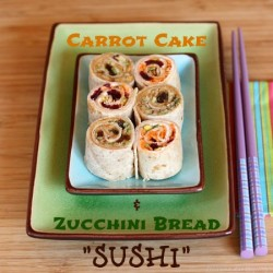 Carrot Cake and Zucchini Bread Sushi Recipe