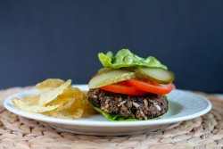 Chipotle Black Bean Veggie Burger