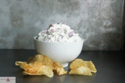 Chive Bacon Yogurt Dip