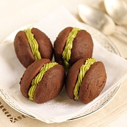 Chocolate Matcha Cookies