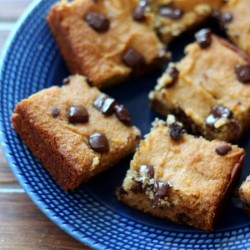Coconut Flour Chocolate Chip Bars