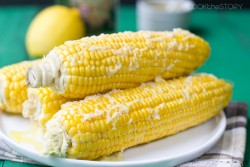 Corn with Olive Oil