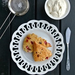 Cranberry White Chocolate Scones Recipe