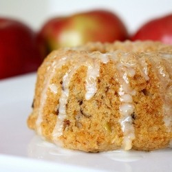 Double Apple Mini Bundt Cakes