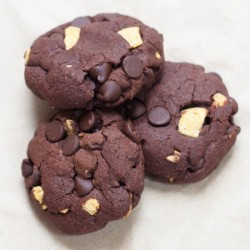 Double Chocolate Fritos Cookies