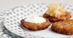Duck Fat Potato Latkes Recipe