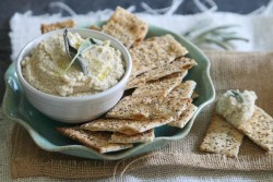Easy Parmesan White Bean Dip