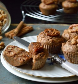 Fig Walnut Muffins