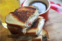 French Dip Grilled Cheese Recipe