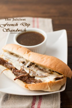 French Dip Sandiwches