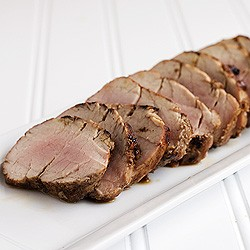 Grilled Spiced Pork Tenderloin