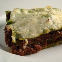 Lasagana with Bolognese Sauce