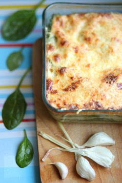 Lasagne with Spinach