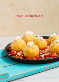 Latino Beef Cornmeal Dumplings