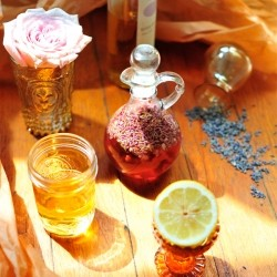 Lavender and Lemon Infused Vinegar