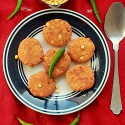 Lentil Fried Patties Recipe