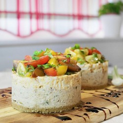 Mackerel Pate and Egg Salad Stack