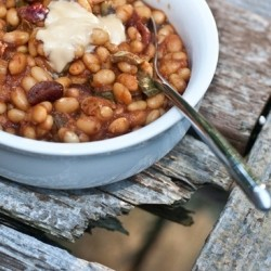 Maple Baked Beans Vegan