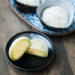 Matcha Green Tea Mochi Ice Cream