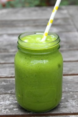Melon and Spinach Smoothie