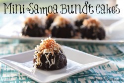 Mini Samoa Bundt Cakes Recipe