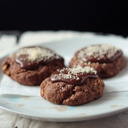 Orange Chocolate Afghan Cookies