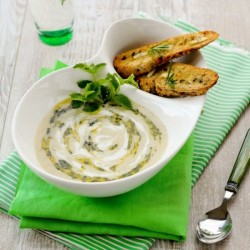 Parsley and Apple Soup