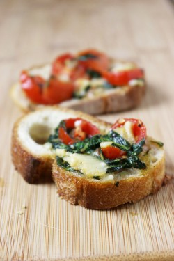Party Appetizer: Bruschetta