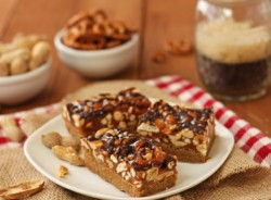Peanut and Pretzel SuperBars