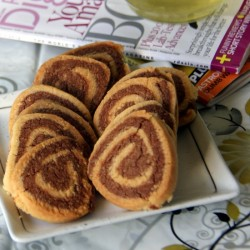 Pinwheel Cookies with Almond