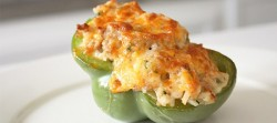 Pork Sausage Stuffed Peppers
