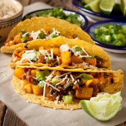 Potato Poblano Chorizo Tacos Recipe