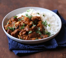 Pressure Cooker Pork Vindaloo