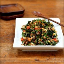 Quinoa and Kale Tabbouleh