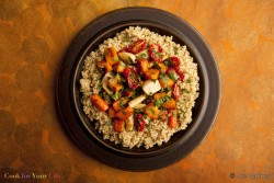 Quinoa with Roasted Root Vegetables Recipe
