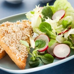 Sesame Shrimp Toast Recipe