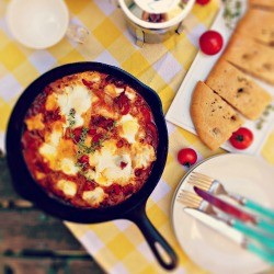Shakshuka Eggs Recipe