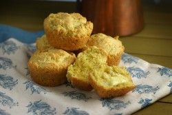 Small Batch Cornbread Muffins