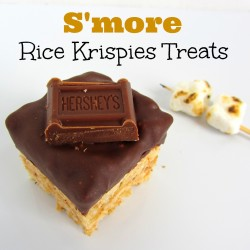 S'more Rice Krispies Treats