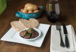 Spanish Chorizo in Red Wine Sauce
