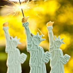 Sparkling Statue of Liberty Cookies
