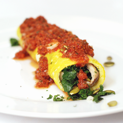 Spicy Cannelloni