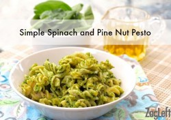 Spinach and Pine Nut Pesto