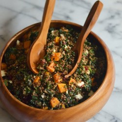 Squash, Quinoa, and Kale Salad