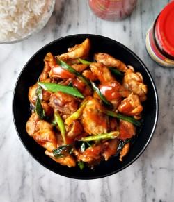 Sriracha Hoisin Glazed Chicken