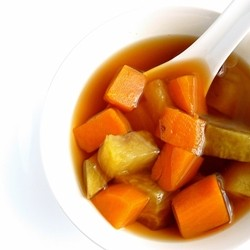 Sweet Potatoes in Palm Sugar Syrup