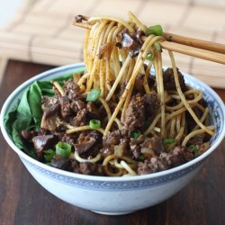 Taiwanese Minced Meat Noodles